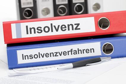 Artikelgebend sind Insolvenzverfahren für Unternehmen.