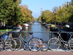 Inhalt des Artikels ist das Fahrradfahren in Städten.