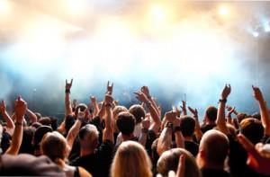Konzert mit Publikum